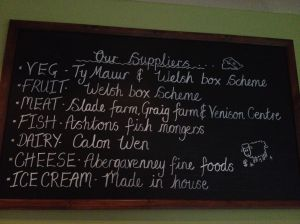 local suppliers, Zest, Cardiff