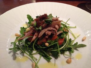 Marinated Rabbit Salad
